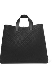 Alaïa Cabas large studded laser-cut leather tote