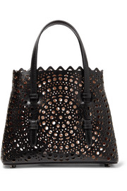 Alaïa Micro laser-cut leather tote