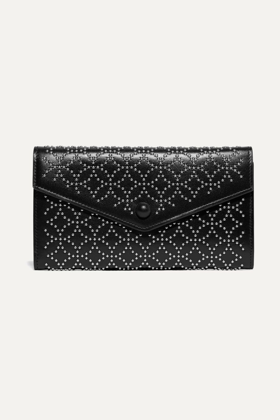 Alaïa Studded leather wallet