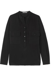 Stella McCartney Estelle silk crepe de chine shirt
