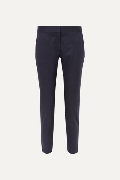 Vivian Wool Straight-leg Pants - Navy Stella McCartney Popular Cheap Online azYBHYSb3