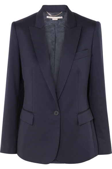 Ingrid Wool Blazer, Navy