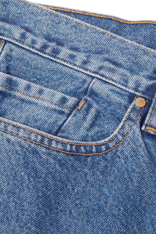 GOLDSIGN The Low Slung 中腰直筒九分牛仔裤