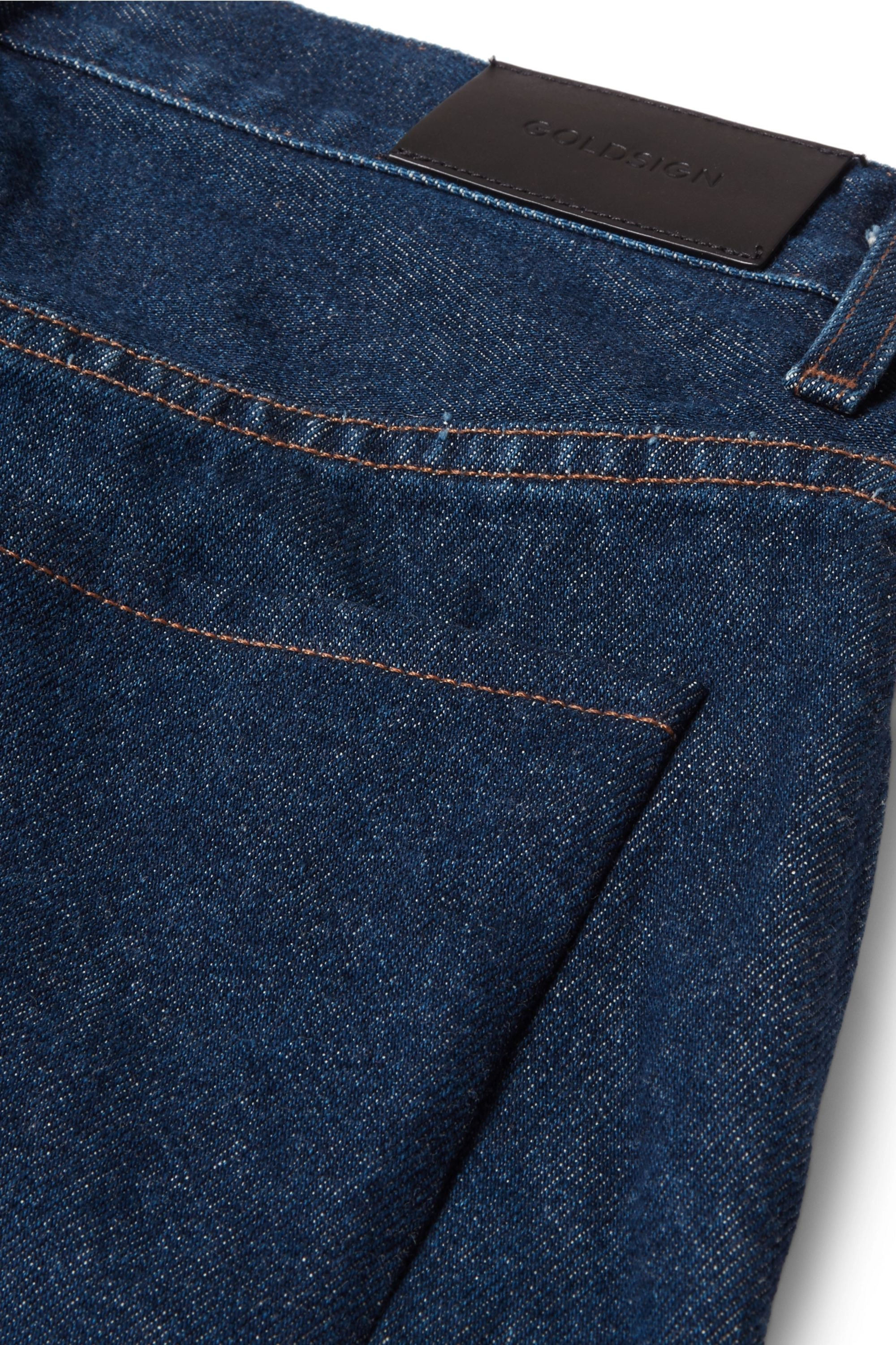 GOLDSIGN The A high-rise straight-leg jeans