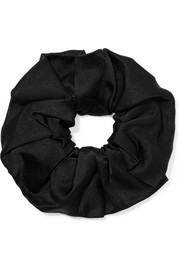 Silk-satin hair tie