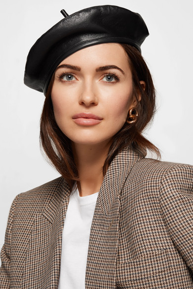 Eugenia Kim. Carter textured-leather beret ba9b7aec5ac