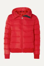 Super Star quilted down jacket