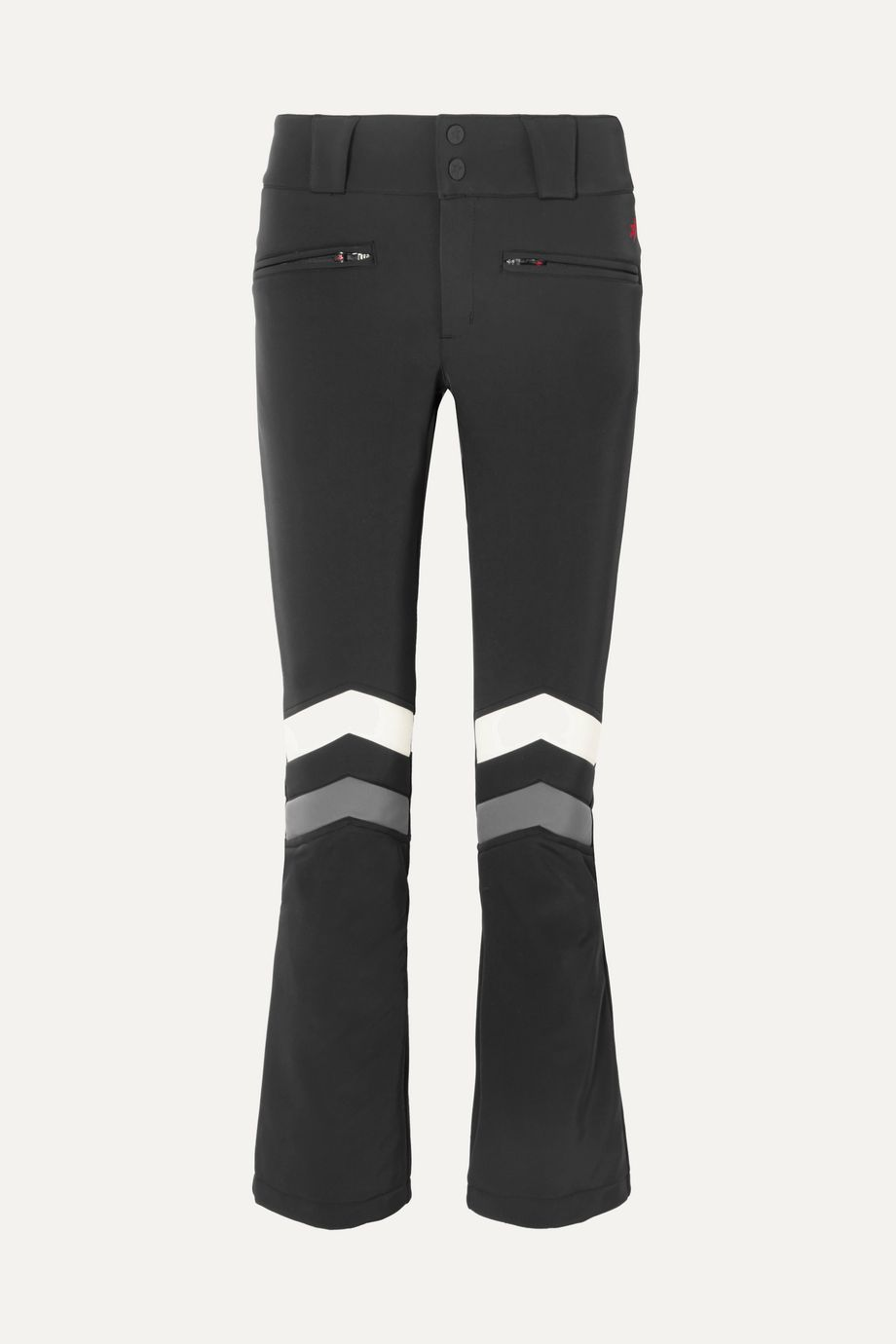 Perfect Moment Pantalon de ski en tissu technique à rayures Aurora Flare