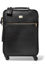 Dolce & Gabbana Sicily Carry-On textured-leather suitcase