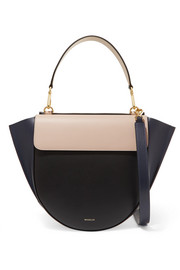 Wandler Hortensia medium color-block leather shoulder bag