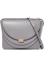 Wandler Luna leather shoulder bag