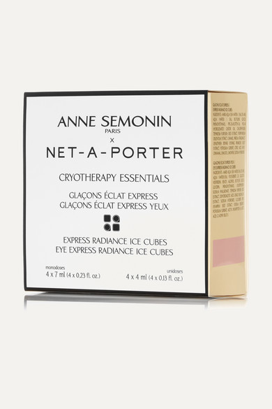 ANNE SEMONIN Ice Cubes: Face X 4 And Eyes X 4 - One Size in Colorless