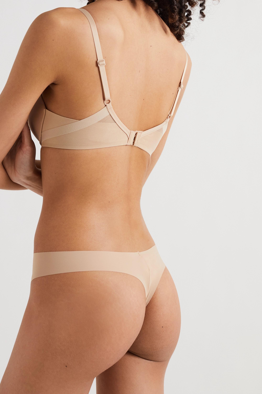 Calvin Klein Underwear Sculpted Demi Lift stretch-jersey and mesh underwired bra
