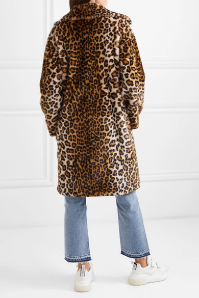 63aee1c8ceeb Camille leopard-print faux fur coat. £150. Reduced further. Play