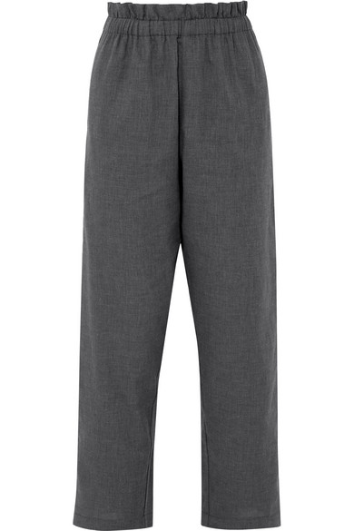 ATLANTIQUE ASCOLI VOYAGE COTTON-FLEECE PANTS