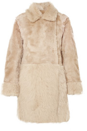 Agnona Reversible shearling coat