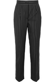 Dolce & Gabbana Pinstriped wool-blend straight-leg pants