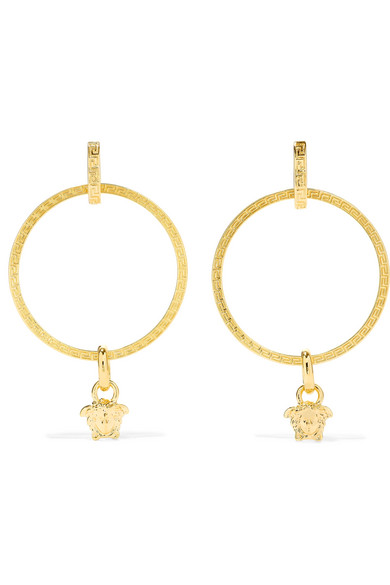 Versace Hoop Earrings