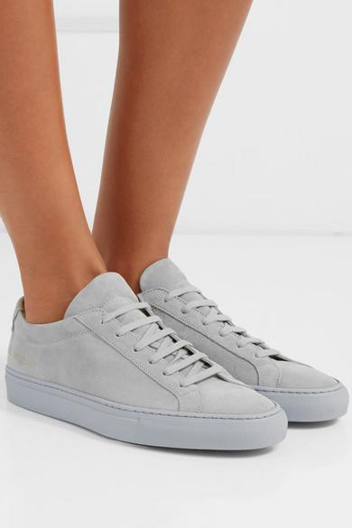 Common Projects   Original aus Achilles Sneakers aus Original Veloursleder 264954