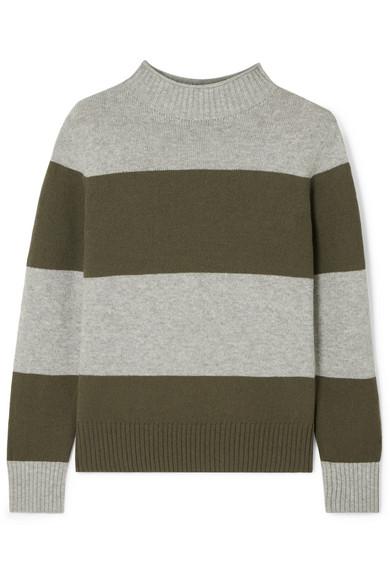 J.Crew - Striped Wool-blend Sweater - Green