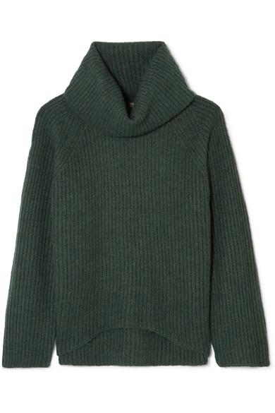 J.Crew - Ana Ribbed-knit Turtleneck Sweater - Green