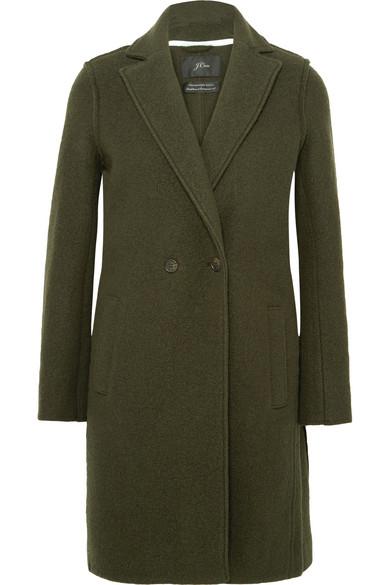 J.Crew - Daphne Wool-felt Coat - Green