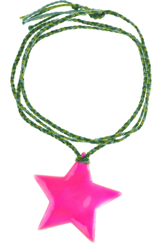 Aurélie Bidermann Mother-of-pearl star charm bracelet
