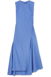 Ellery Nightwood striped cotton midi dress