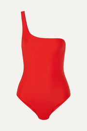 Jade Swim Apex one-shoulder swimsuit