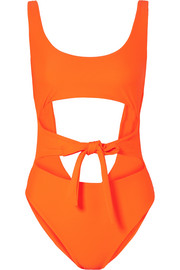 Jade Swim Bond cutout swimsuit