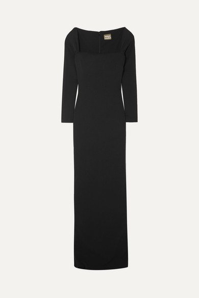 SOLACE LONDON The Lolita stretch-knit gown