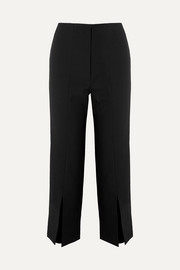Solace London The Inez cropped crepe tapered pants