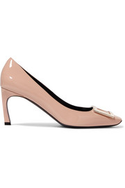 Belle Vivier Trompette patent-leather pumps