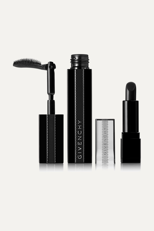 Givenchy Beauty Noir Interdit Mascara and Rouge Interdit Vinyl Lipstick Set