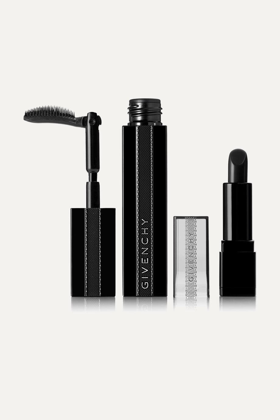 Givenchy Beauty Noir Interdit Mascara and Rouge Interdit Vinyl Lipstick Set