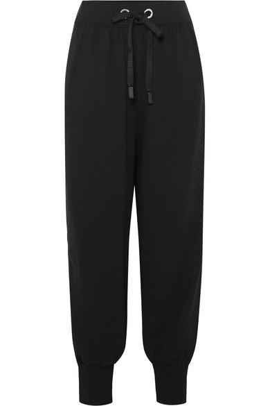 Ano'e Striped Stretch Cotton Blend Track Pants by No Ka'oi