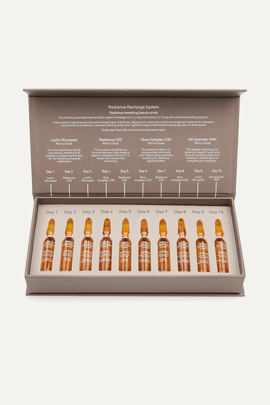 SARAH CHAPMAN Radiance Recharge System, 10 X 1Ml - Colorless