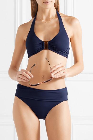 Melissa Odabash Culotte De Bikini Trinidad - Bleu marine Populaire Pour La Vente Acheter À Bas Prix De Nouveaux Styles Vue La Vente En Ligne Traite La Vente En Ligne H44cgJns
