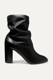 Aquazzura Boogie leather ankle boots