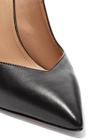 Aquazzura Pumps Stylist textured-leather Mary Jane pumps