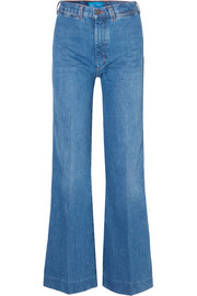 + Bay Garnett Bay high-rise wide-leg jeans