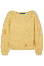 M.i.h Jeans Lacey knitted sweater