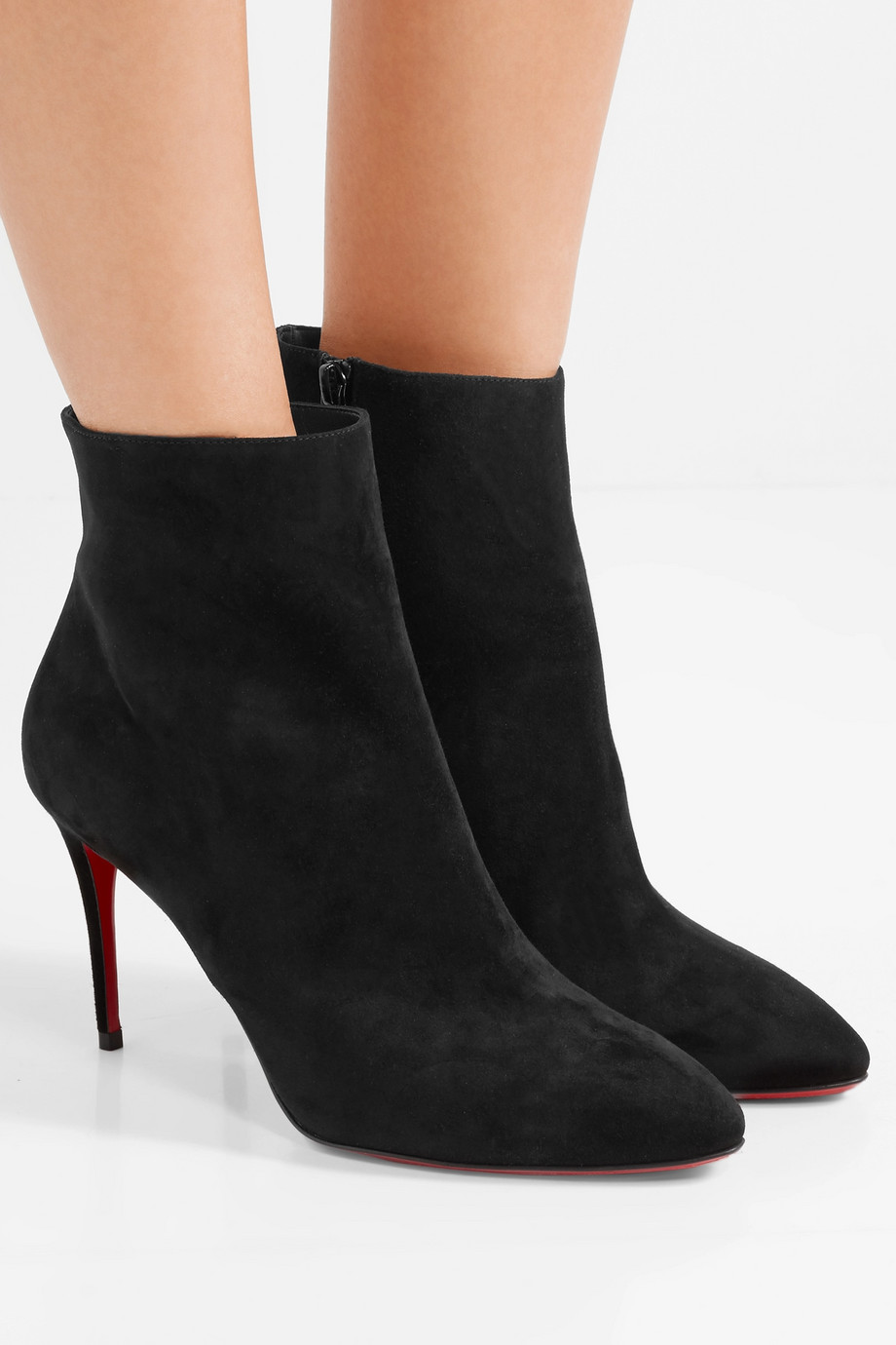 Christian Louboutin Eloise 85 suede ankle boots