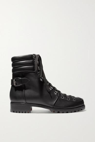 designer fashion 0c453 48ea0 Who Runs leather ankle boots