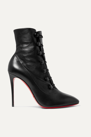 e1576fdccd Christian Louboutin | French Tutu 100 leather ankle boots | NET-A ...