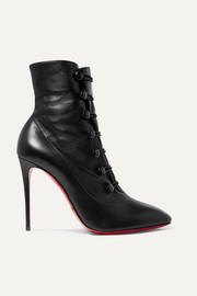 Christian Louboutin French Tutu 100 leather ankle boots