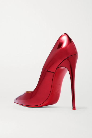 00d7d6f0f62 Christian Louboutin. So Kate 120 metallic patent-leather pumps. £575. More  colors available. Zoom In