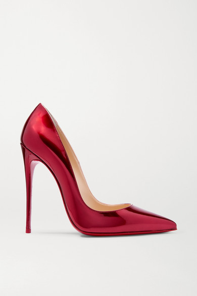 Christian Louboutin | So in Kate 120 Pumps aus Lackleder in So Metallic-Optik 22327b