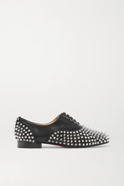 Freddy studded leather brogues