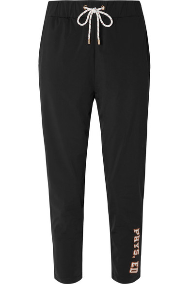 Phys Ed Printed Stretch Jersey Track Pants by P.E Nation